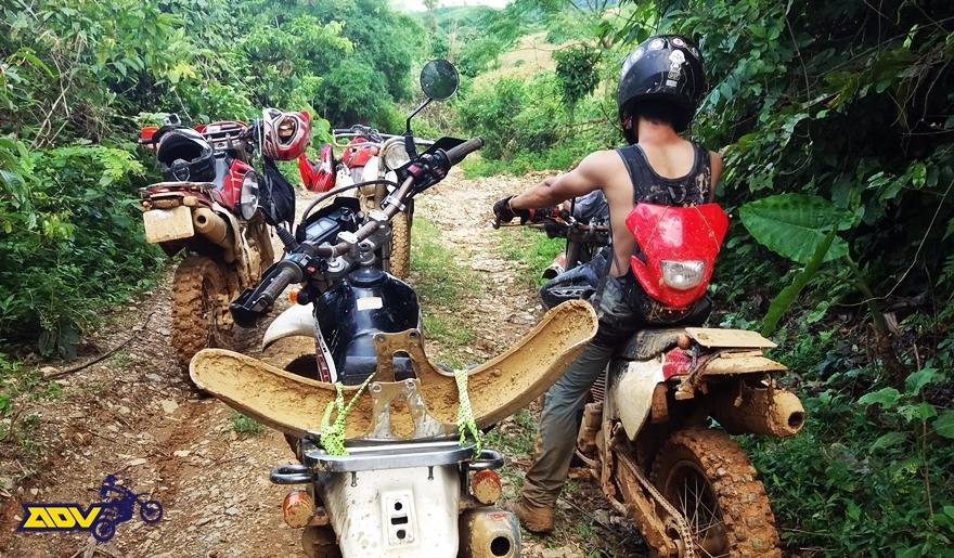 preparation for motorbike trip vietnam